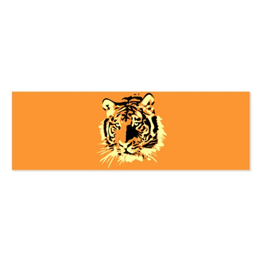 Tiger Business Card Template