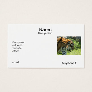 Tiger Business Cards