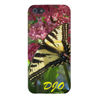 Tiger Butterfly and Lilacs iPhone 5 Case
