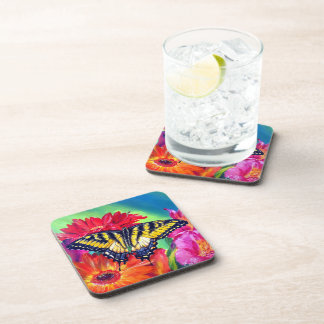 Tiger Butterfly Drink Coaster