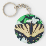 Tiger Butterfly Key Chains