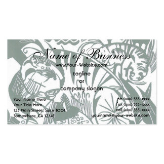 Tiger by Franz Marc; Vintage Expressionism Animals Business Card