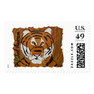 Tiger by Joel Anderson Postage Stamps