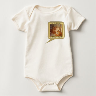 Tiger Call out - Happy New Year Baby Bodysuit