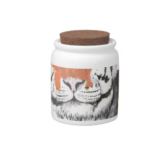Tiger Candy Dishes