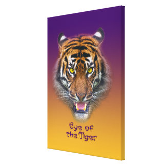 Tiger Stretched Canvas Prints