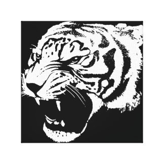 Tiger canvas 12x12