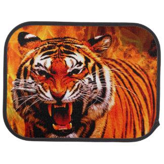 Tiger Car Mats (Rear) (set of 2) Floor Mat