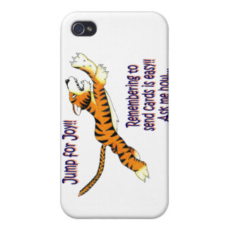 Tiger Card Business iPhone 4 Cases