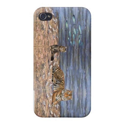 Tiger Cat Fish see Case For iPhone 4