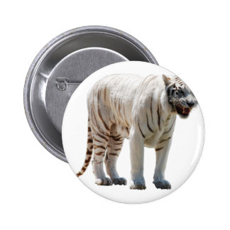 Tiger cat stripes personalize diy Anniversaries Button