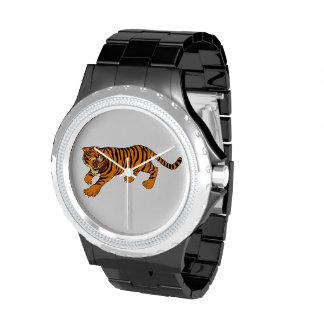 Tiger Cat Wild Animal Safari Destiny Stripes Watches