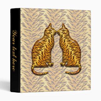 Tiger Cats 3 Ring Binder