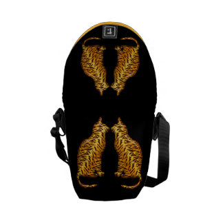 Tiger Cats Courier Bag
