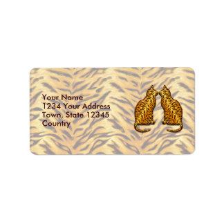 Tiger Cats Label