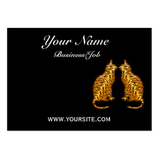 Tiger Cats Large Business Card