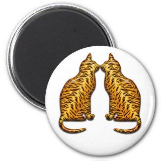 Tiger Cats Magnet