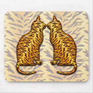 Tiger Cats Mouse Pad