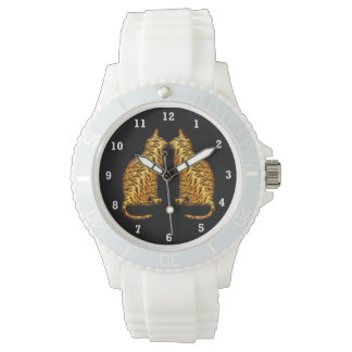 Tiger Cats Wristwatch