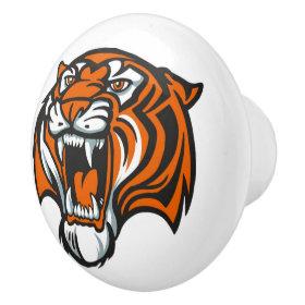 Tiger Ceramic Drawer Knob - SRF Ceramic Knob