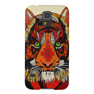 tiger chief natural galaxy s5 cover