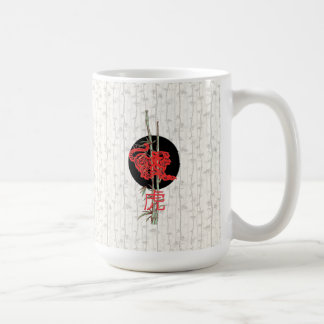 Tiger (chinese zodiac) classic white coffee mug