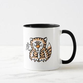 Tiger Chinese Zodiac Mug