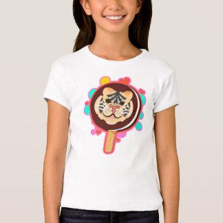 Tiger Chocolate Ice Cream Sandwich on a stick - T-Shirt