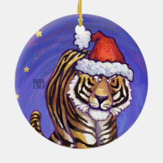 Tiger Christmas Christmas Ornament