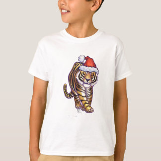 Tiger Christmas T-Shirt