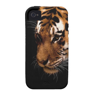 TIger Close Up Vibe iPhone 4 Cover