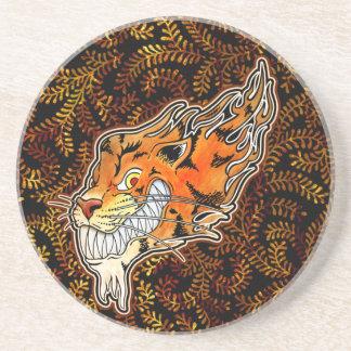 Tiger Coaster - Ferns