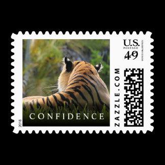 Tiger Confidence Custom Postage