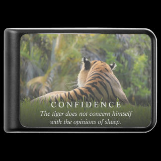Tiger Confidence Quote Cell Phone Charger /