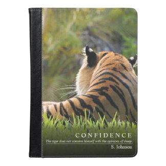 Tiger Confidence Quote iPad Case / Kindle Case