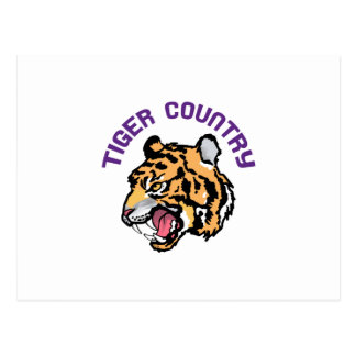 Tiger Country Postcard