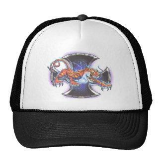 tiger cross trucker hat