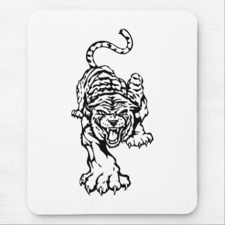 TIGER CROUCHING MOUSE PAD