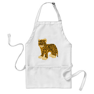 Tiger Cub Adult Apron