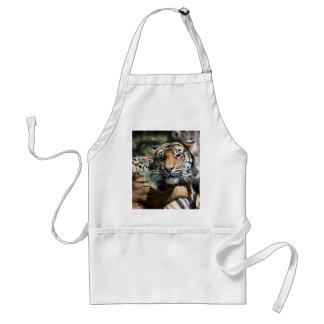 Tiger cub adult apron