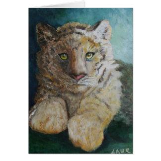 Tiger Cub Card
