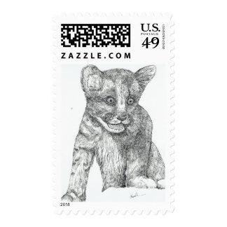 Tiger Cub Cuteness Postage