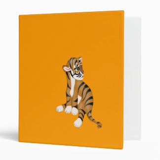 Tiger Cub Design 3 Ring Binders