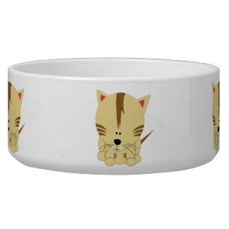 Tiger Cub Dog Bowl