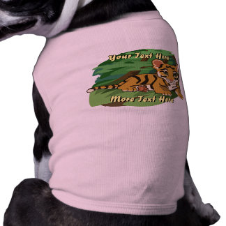 Tiger Cub Dog Shirt