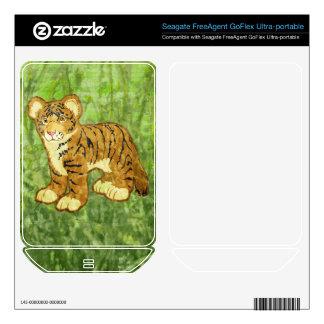 Tiger Cub FreeAgent GoFlex Skin