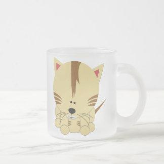 Tiger Cub Glass Mug