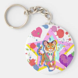 Tiger Cub Keychain