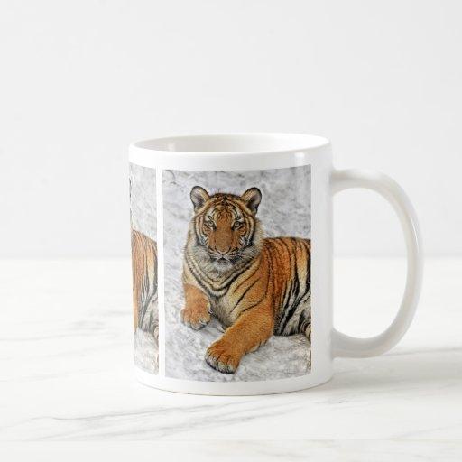 Tiger Cub Portrait Mug