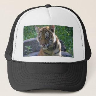 Tiger Cub Portrait Trucker Hat